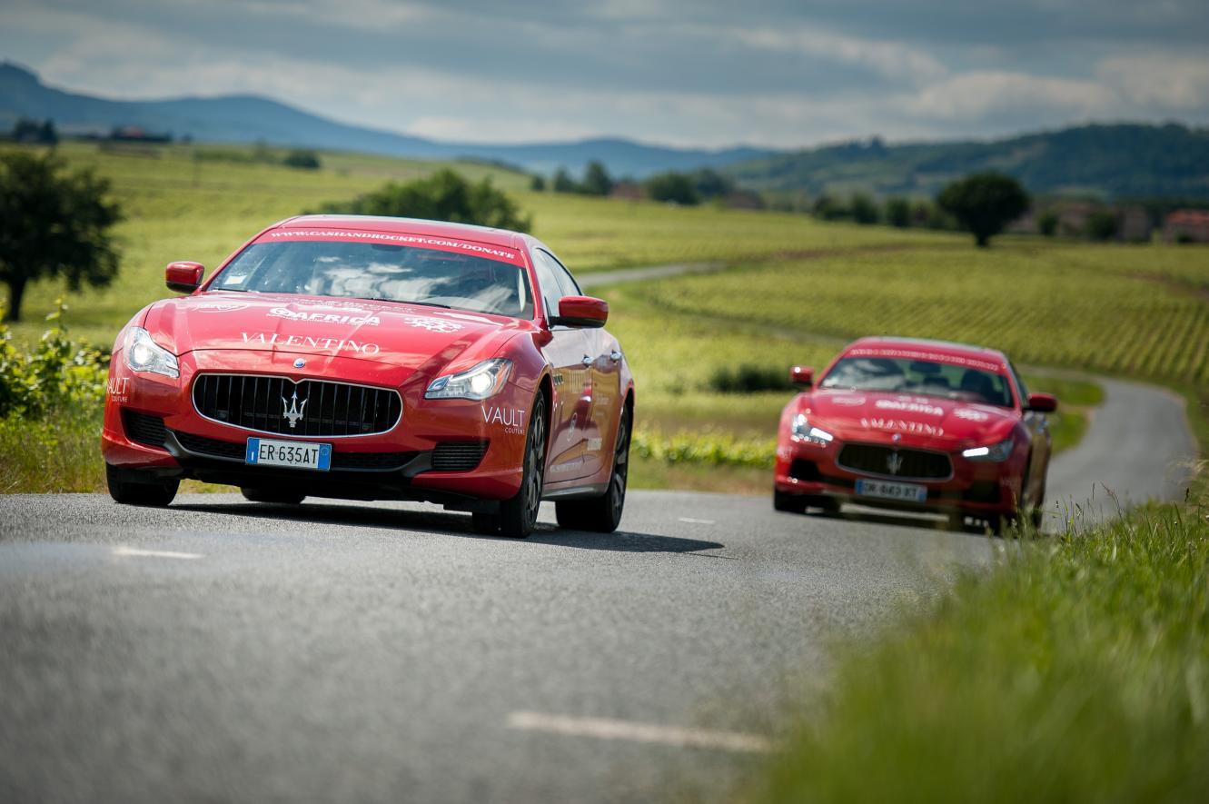 Maserati Cash&Rockets: raccolti oltre 14 milioni