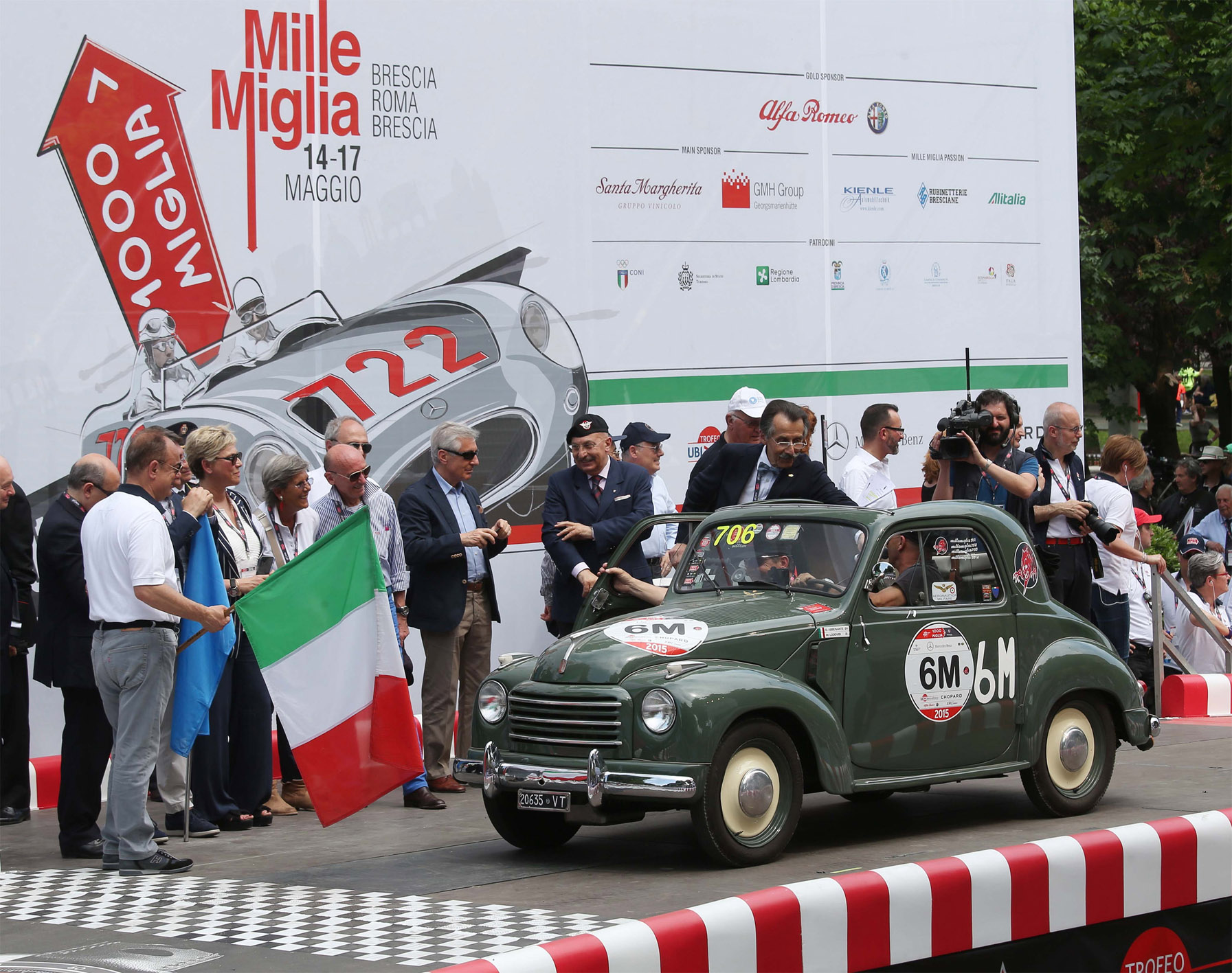 La Mille Miglia 2016 si presenta a Ginevra