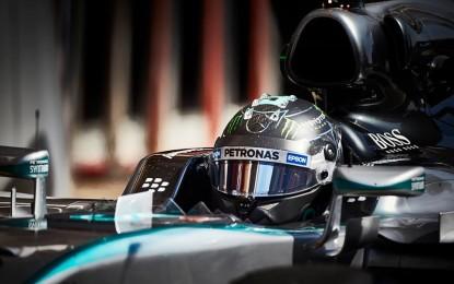 Test: Rosberg e Mercedes più veloci della pole