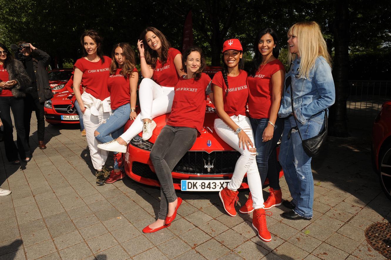 Parata di Maserati al CASH & ROCKET TOUR 2015