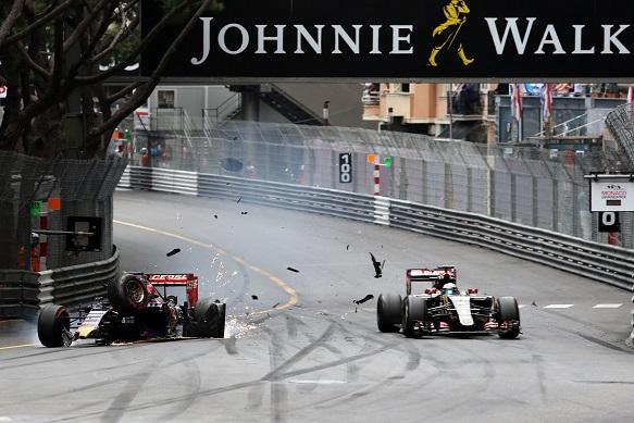 Monaco: Verstappen penalizzato per l'incidente