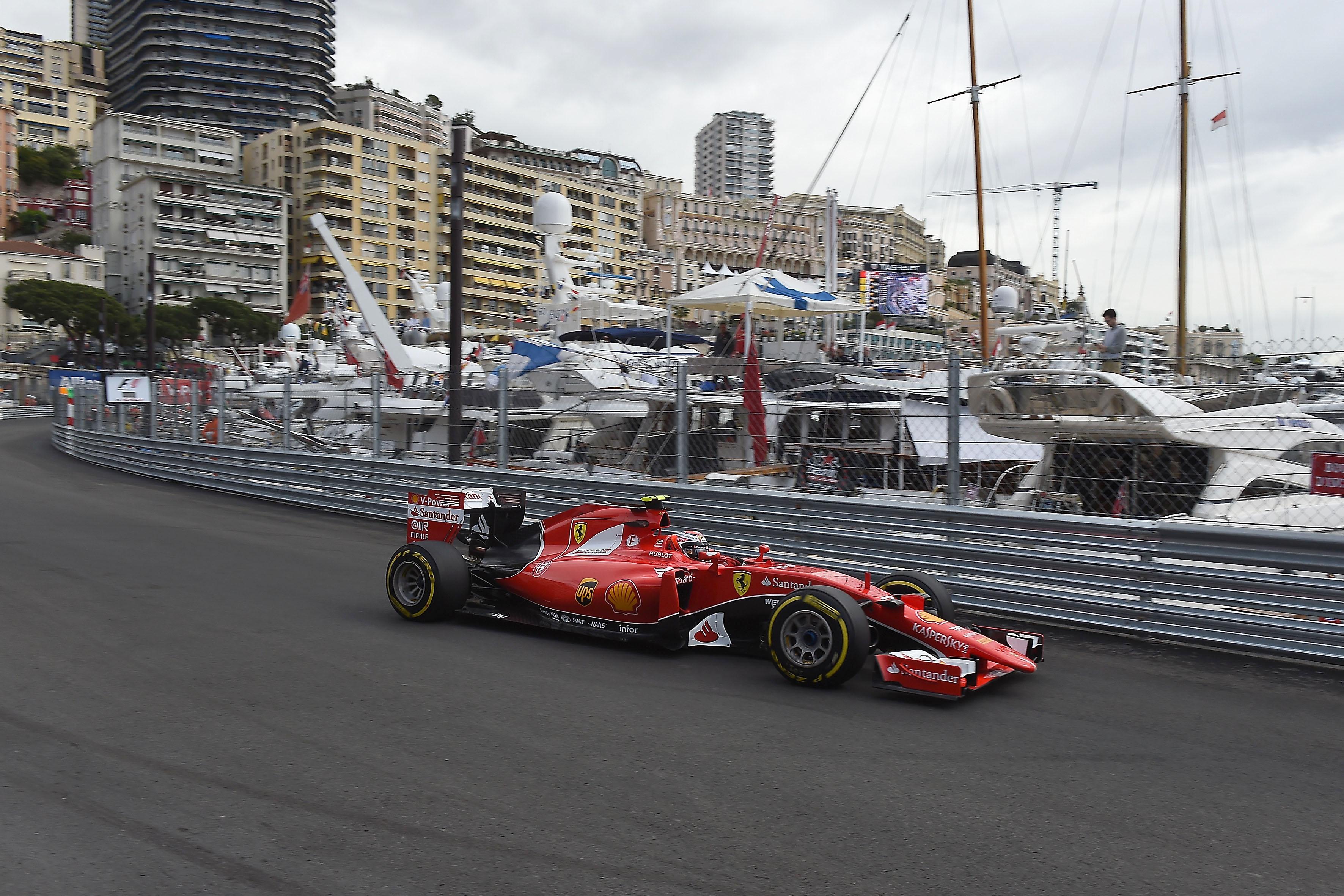 Monaco: per la Ferrari giornata di studio