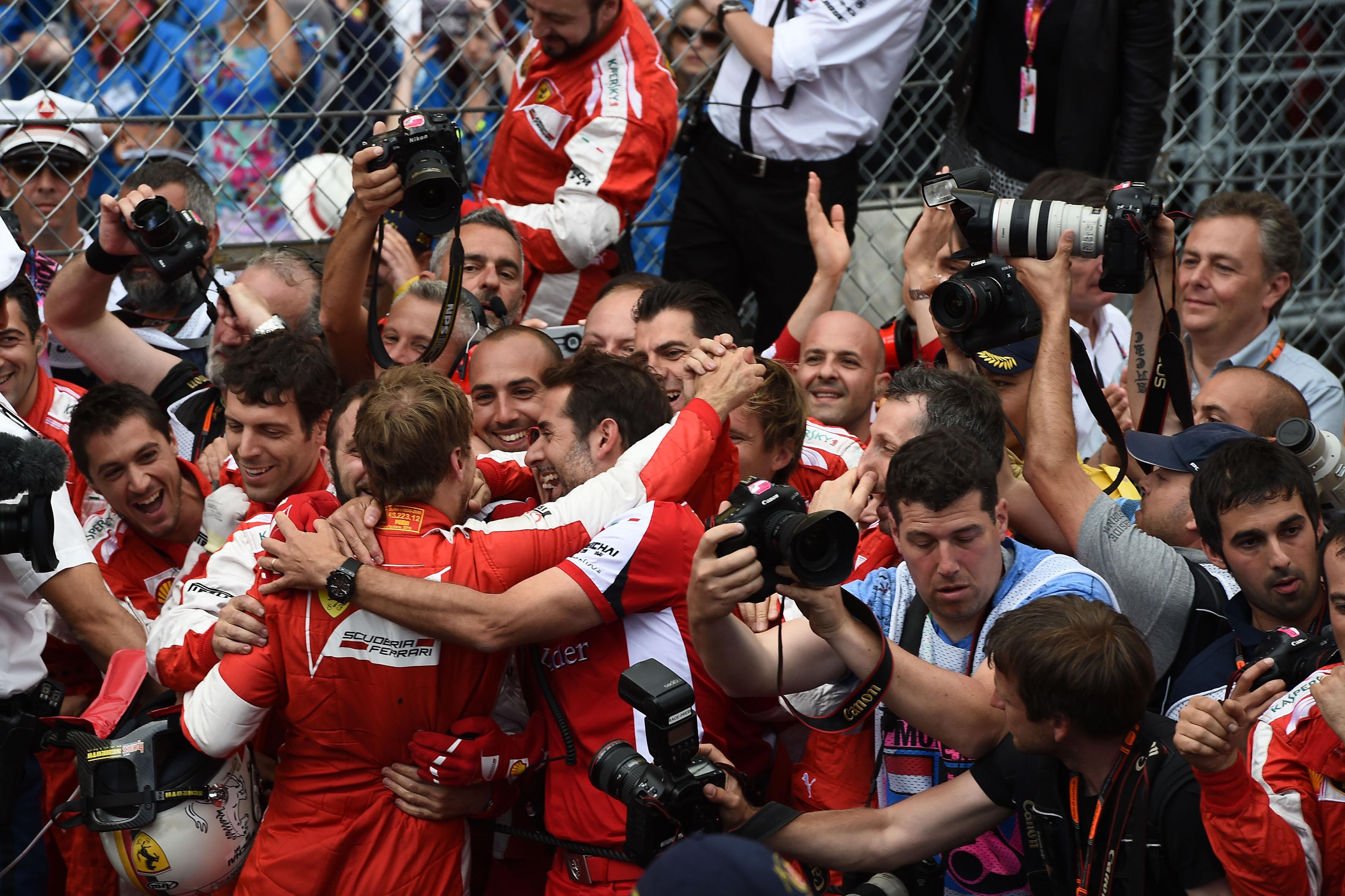 Ferrari: argento per Seb e Ferrari nel Principato