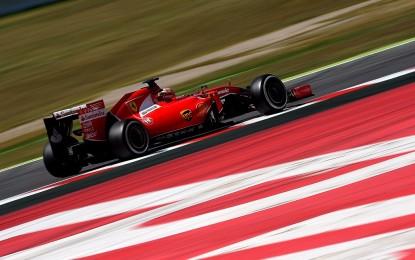 Test: prima giornata intensa per la Ferrari