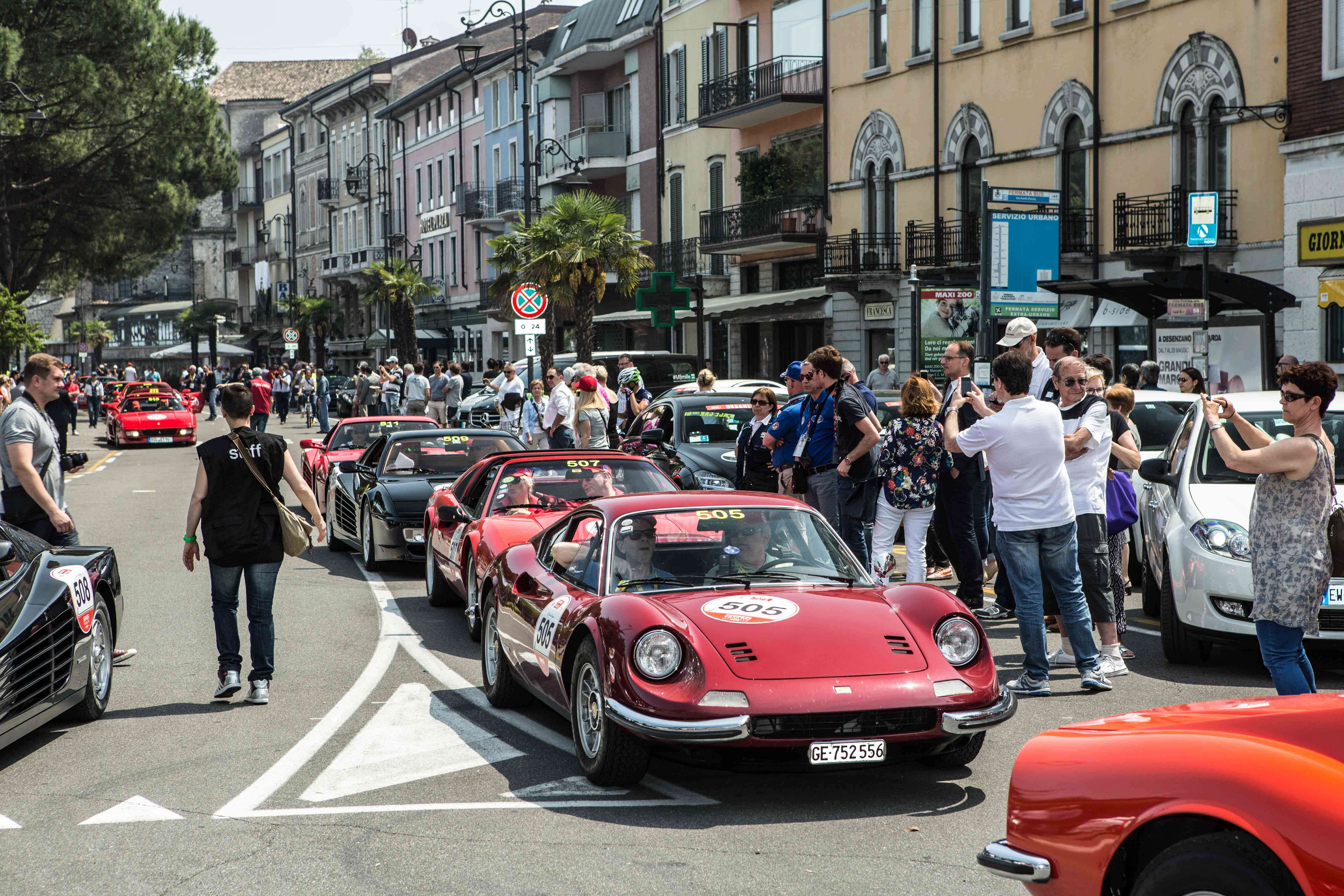 Ferrari Tribute to Mille Miglia