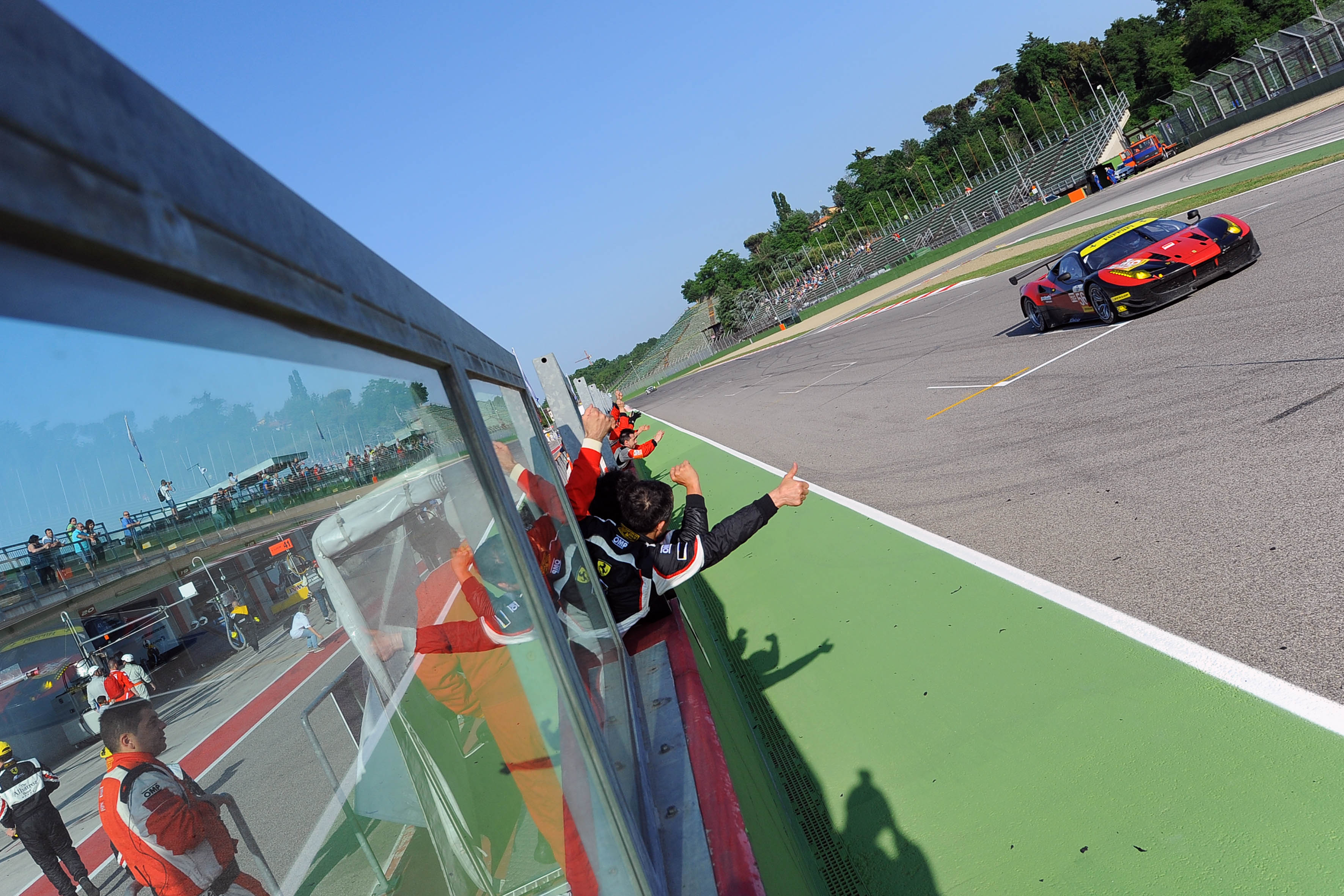 ELMS: dominio Ferrari in GT a Imola