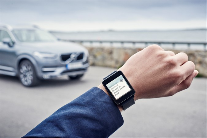 Apple Watch per controllare a distanza la propria Volvo