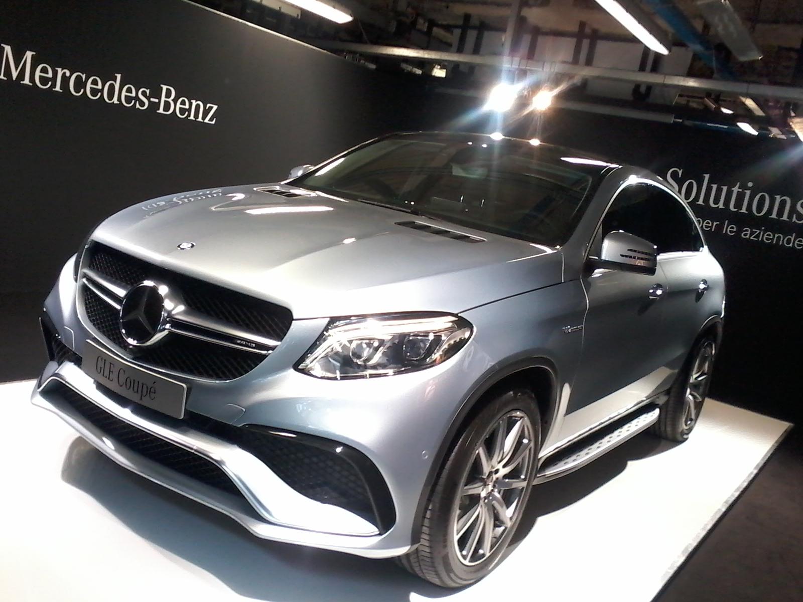 GLE e GLE Coupé: il SUV Attack Mercedes