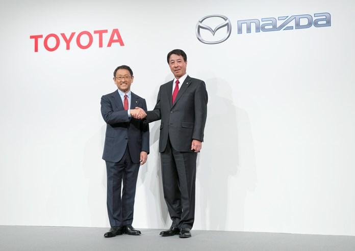 Toyota e Mazda unite per auto migliori