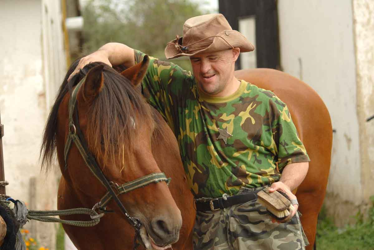La Bastide: a cavallo si è tutti uguali!