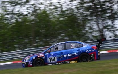 La WRX STI vince al Nürburgring