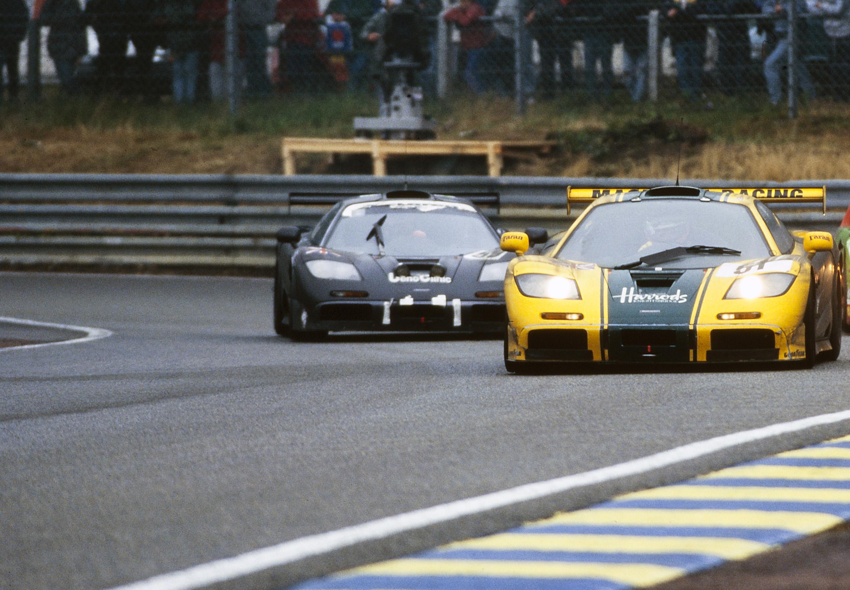 Cinque McLaren F1 GTR riunite a Le Mans