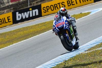 MotoGP: pole record di Lorenzo a Jerez
