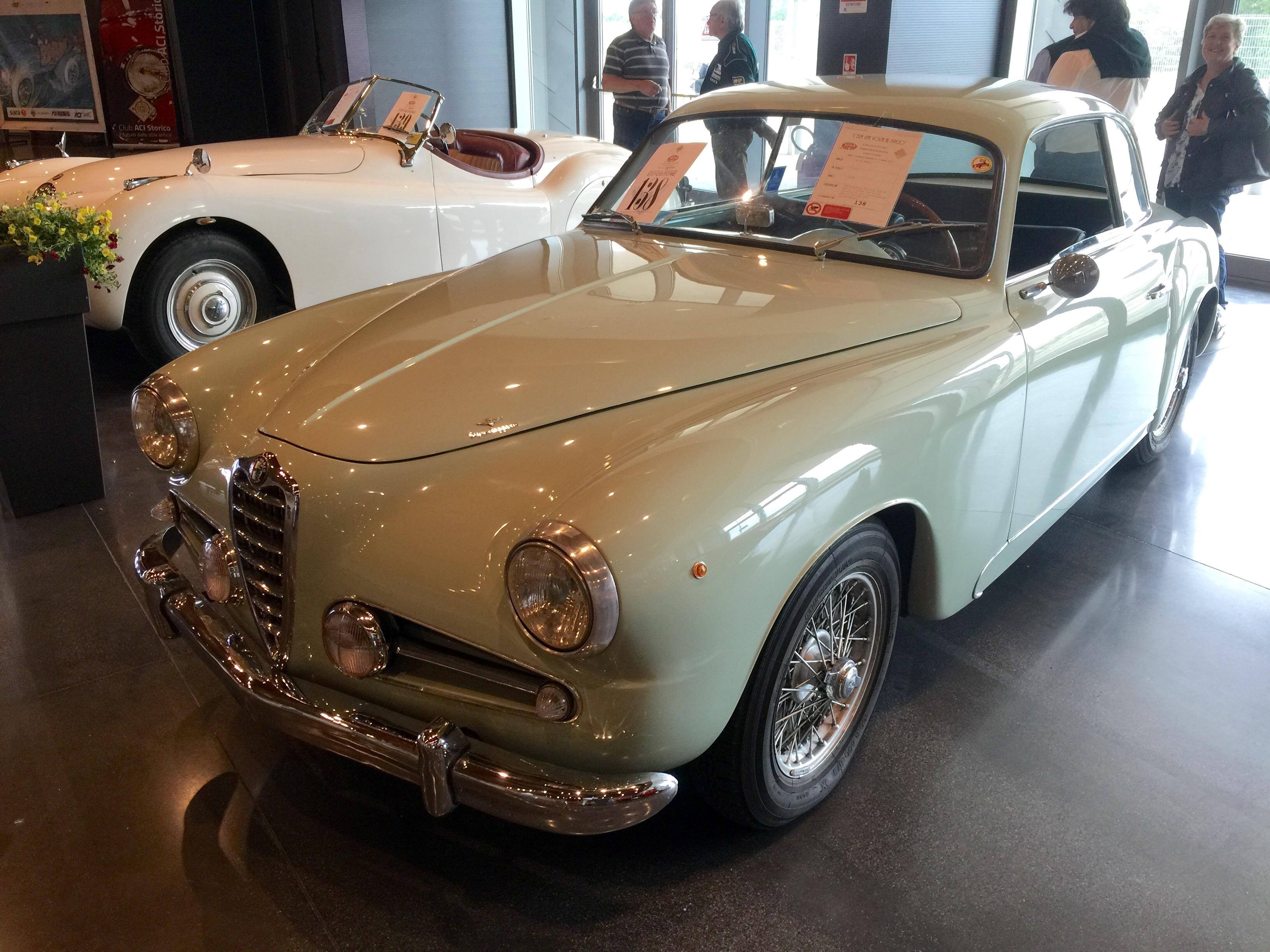 """L'Alfa 1900 vince """"C'era una volta al Pincio"""""""