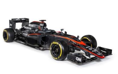 """McLaren-Honda: nuova livrea """"dark"""""""