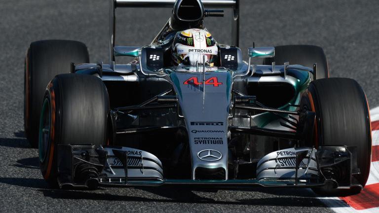 Spagna FP2: Hamilton su Vettel e Rosberg