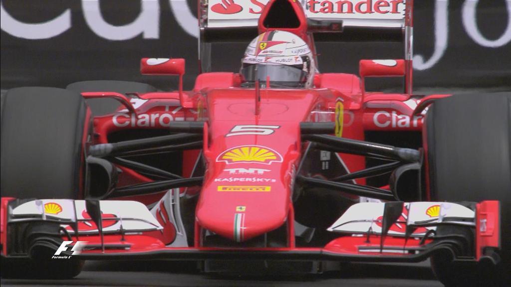 Monaco: Vettel vola nelle terze libere