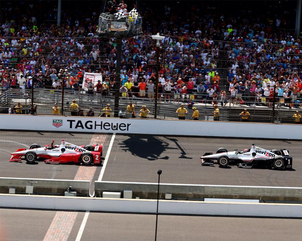 Montoya vince la 500 Miglia di Indianapolis