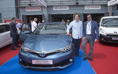 Jarno Trulli ospite di Toyota e Lexus a Company Car Drive