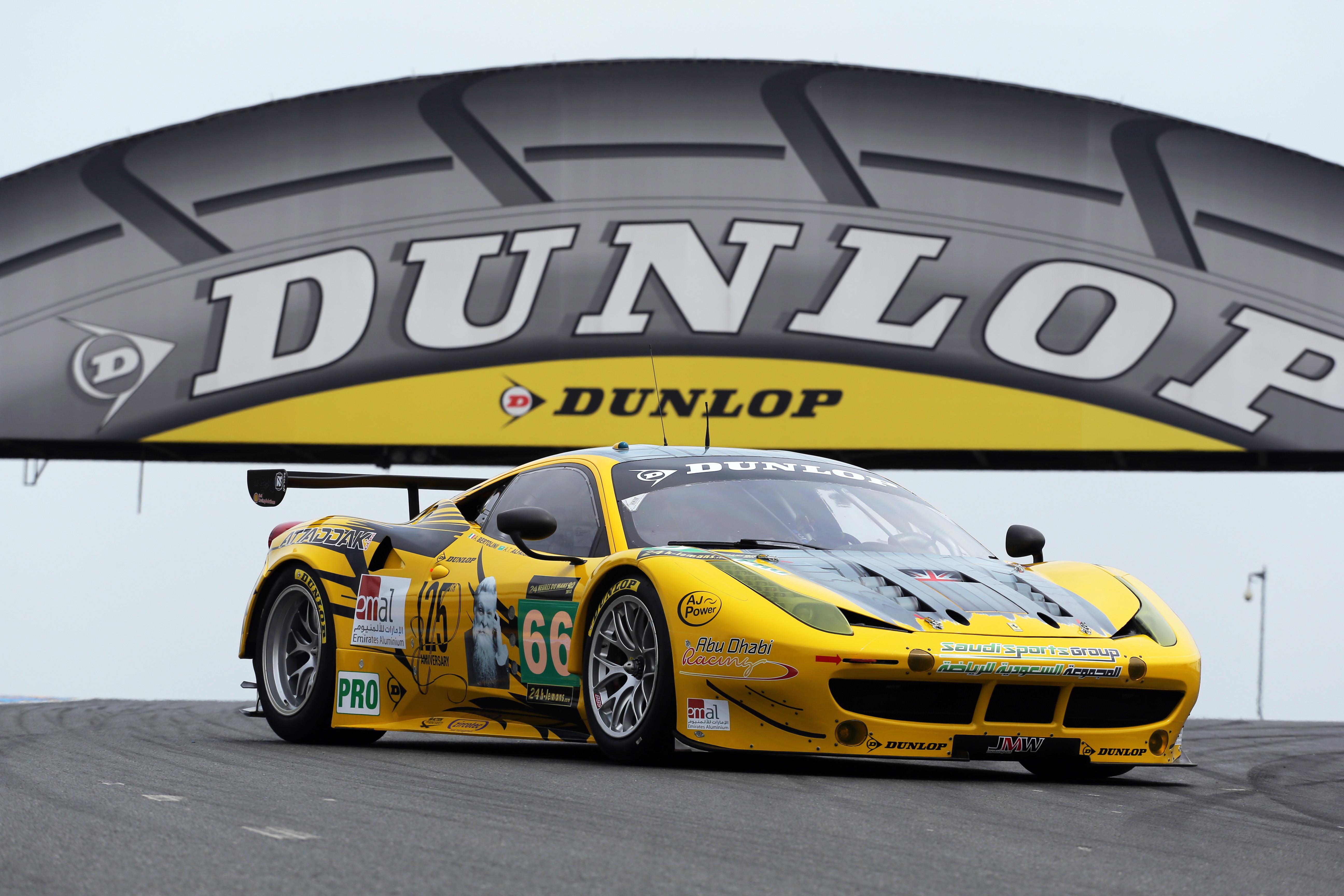 Dunlop fornitore esclusivo European Le Mans Series