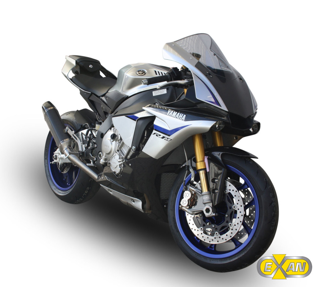 Scarico Exan X-Black EVO per Yamaha FZ1 - Motociclismo