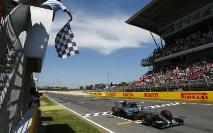 Spagna: Rosberg goal! Davanti a Hamilton e Vettel