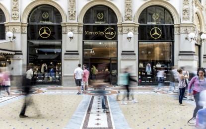 A Milano il primo Mercedes me Store italiano