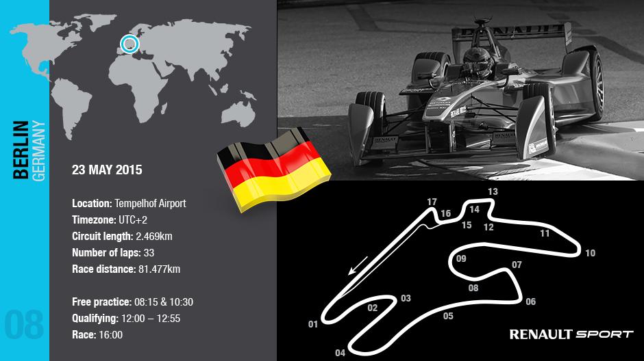 Domani l'ePrix di Berlino