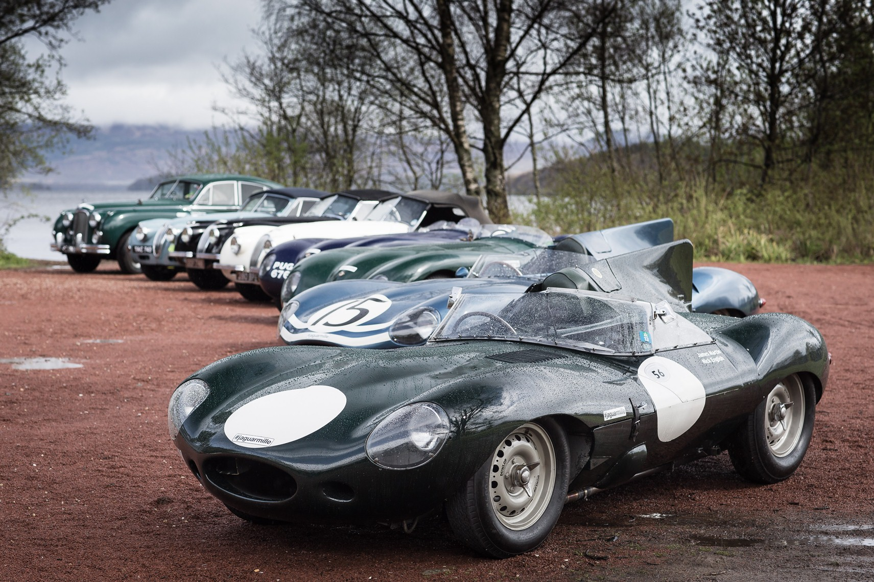 Jaguar presenta i piloti della Mille Miglia