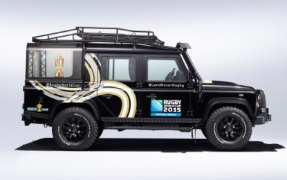 Land Rover Defender Rugby World Cup