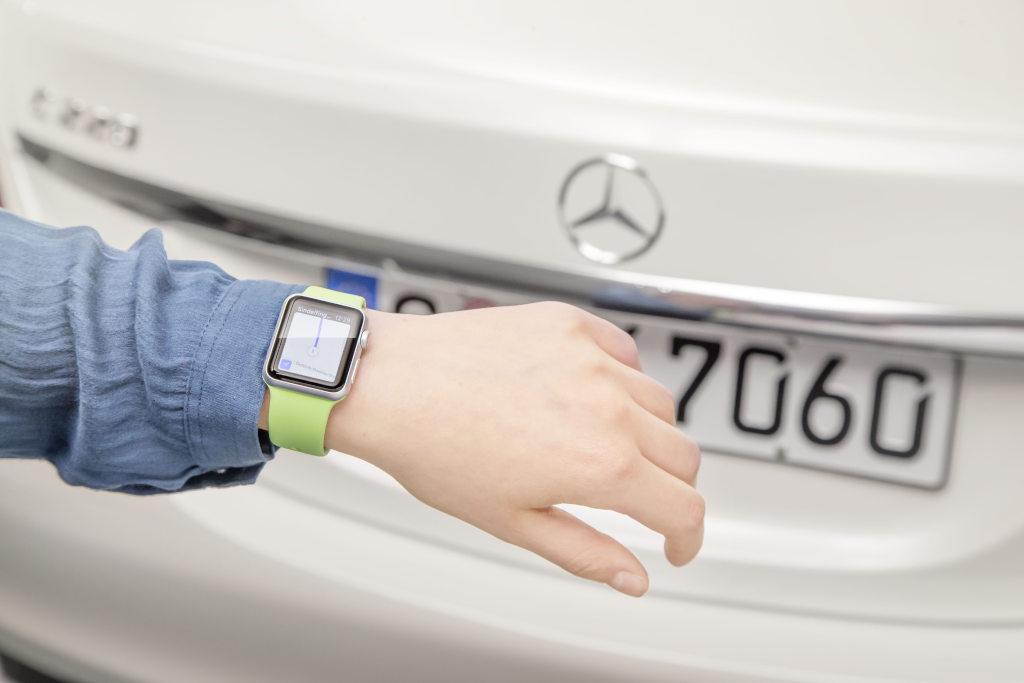 Mercedes: nuova App per l'Apple Watch
