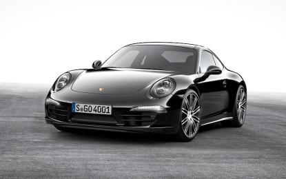 Black Edition per Porsche Boxster e 911 Carrera