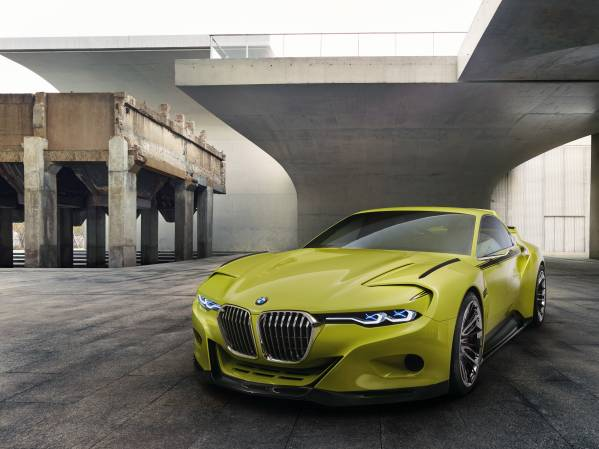 BMW 3.0 CSL Hommage: sportiva con classe