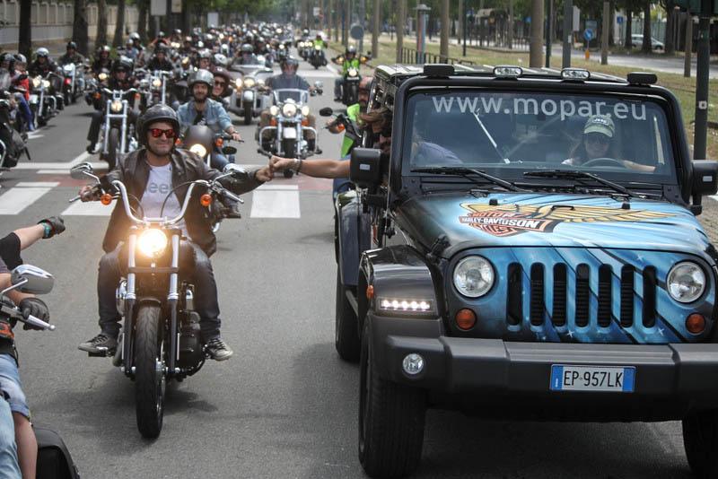 2° Raduno Jeepers e Bikers. Con finale di Champions!