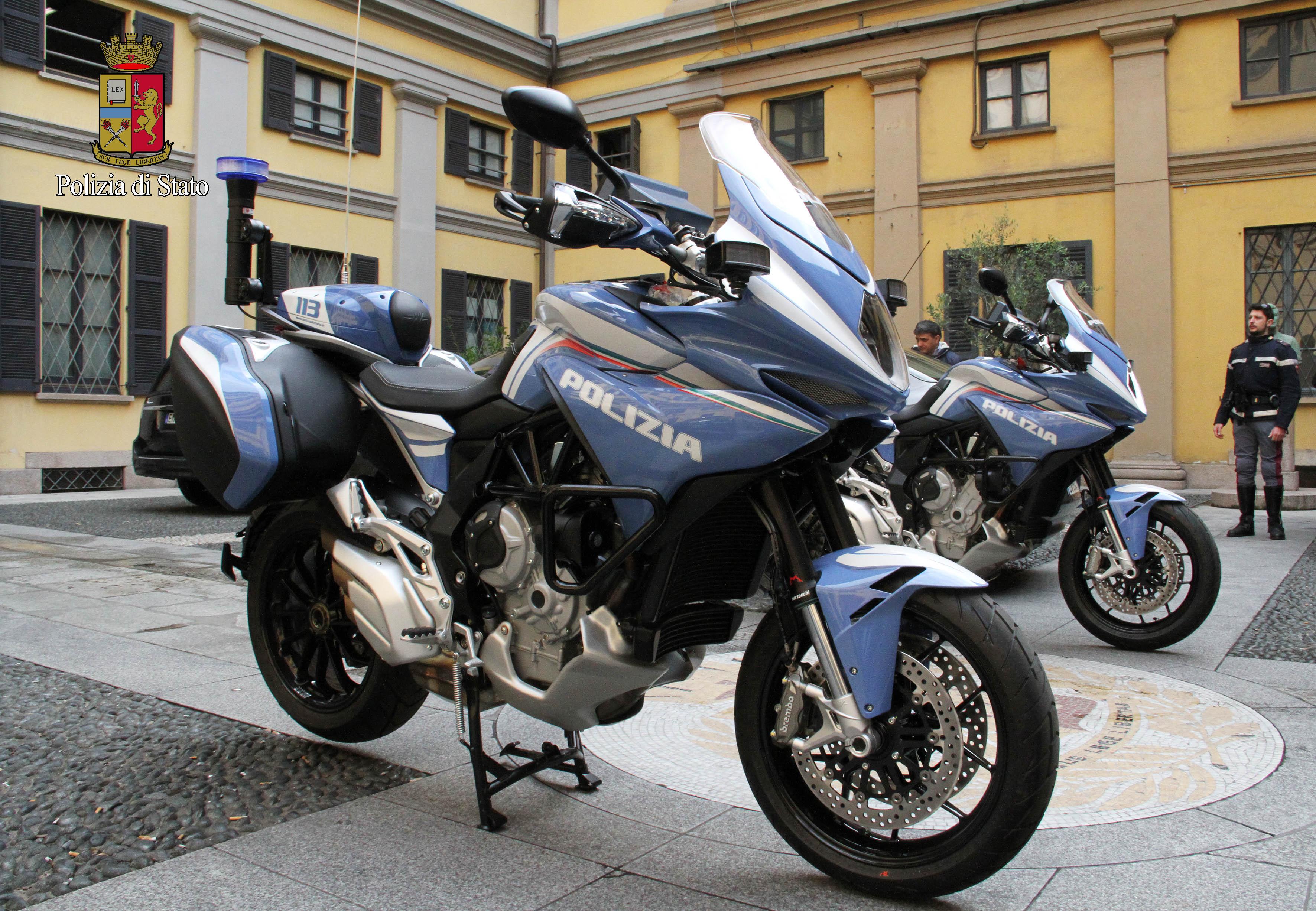 MV Agusta: anche Turismo Veloce per la Polizia