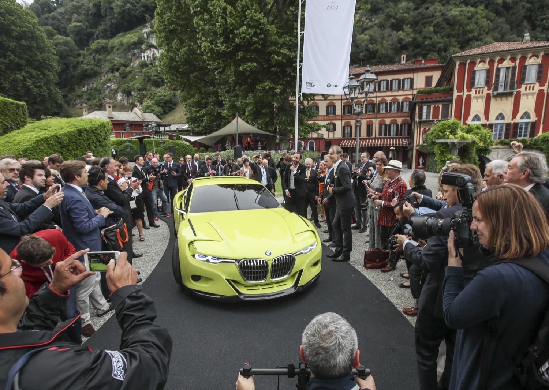 """BMW a Villa d'Este: 3.0 CSL Hommage e """"Concept 101"""""""