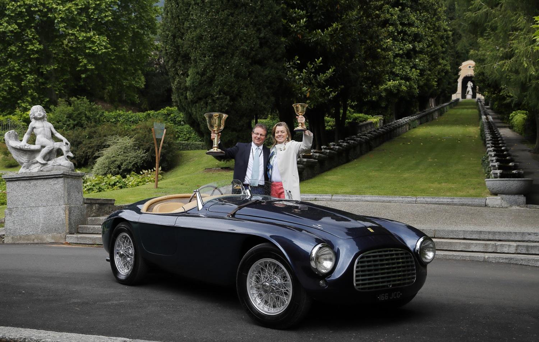 La Ferrari 166 MM conquista la Coppa d'Oro
