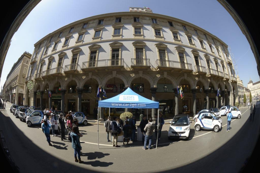 car2go Torino: oltre 10mila noleggi in 30 giorni