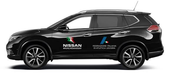 Nissan corre con l'atletica leggera