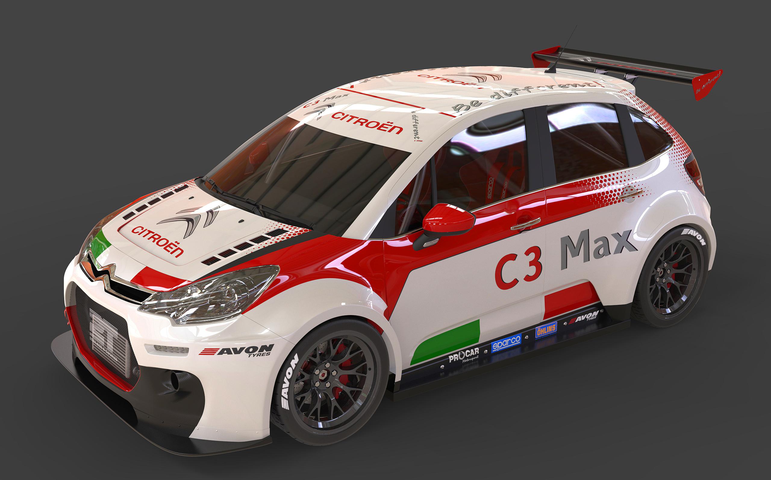 Citroën C3 Max scende in pista nel CITE