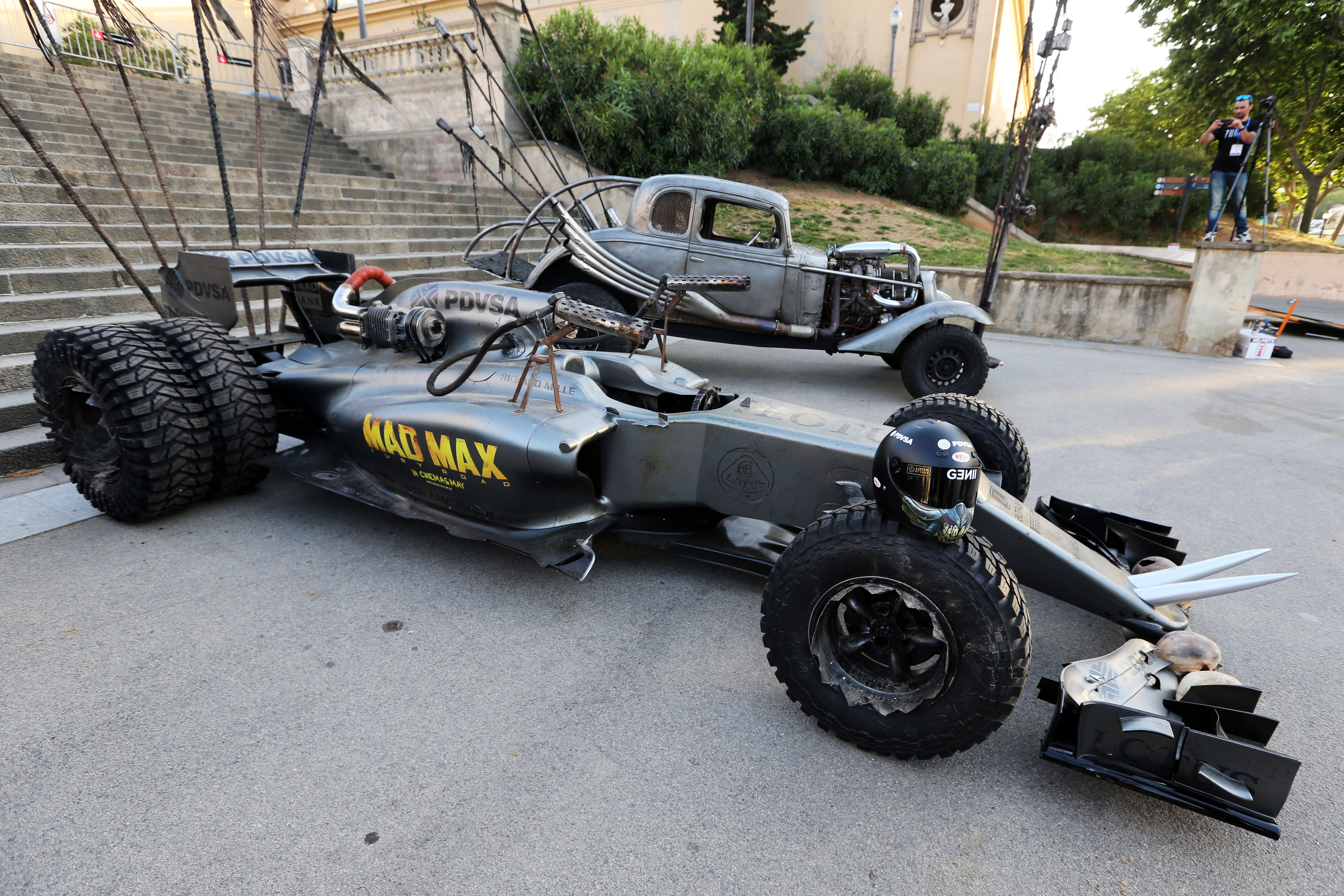 F1 alternativa per il team Lotus con Mad Max