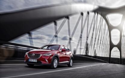 Nuovo Mazda CX-3 è già un successo