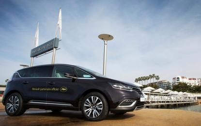 Nuovo Espace auto ufficiale del Festival di Cannes