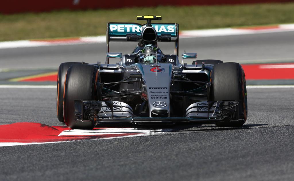 Spagna: FP3 targate Rosberg-Vettel