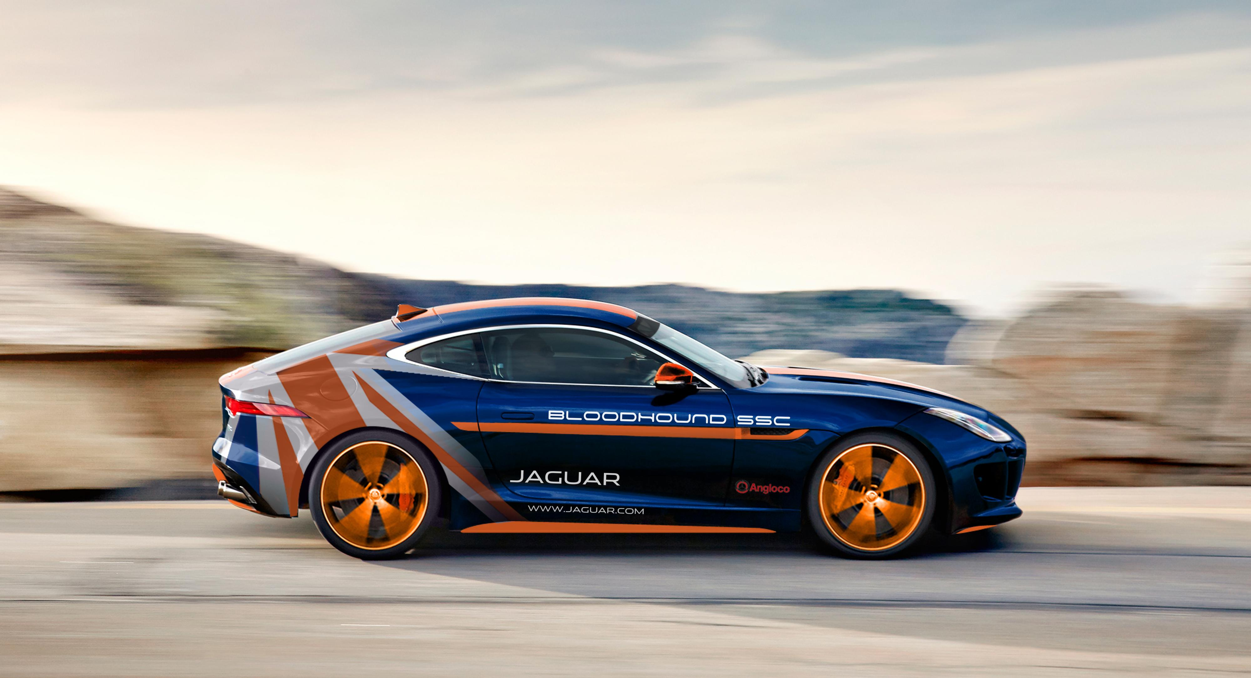 Jaguar F-TYPE Bloodhound RVV