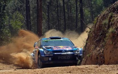 Le tre Polo R WRC dominano il Rally del Portogallo