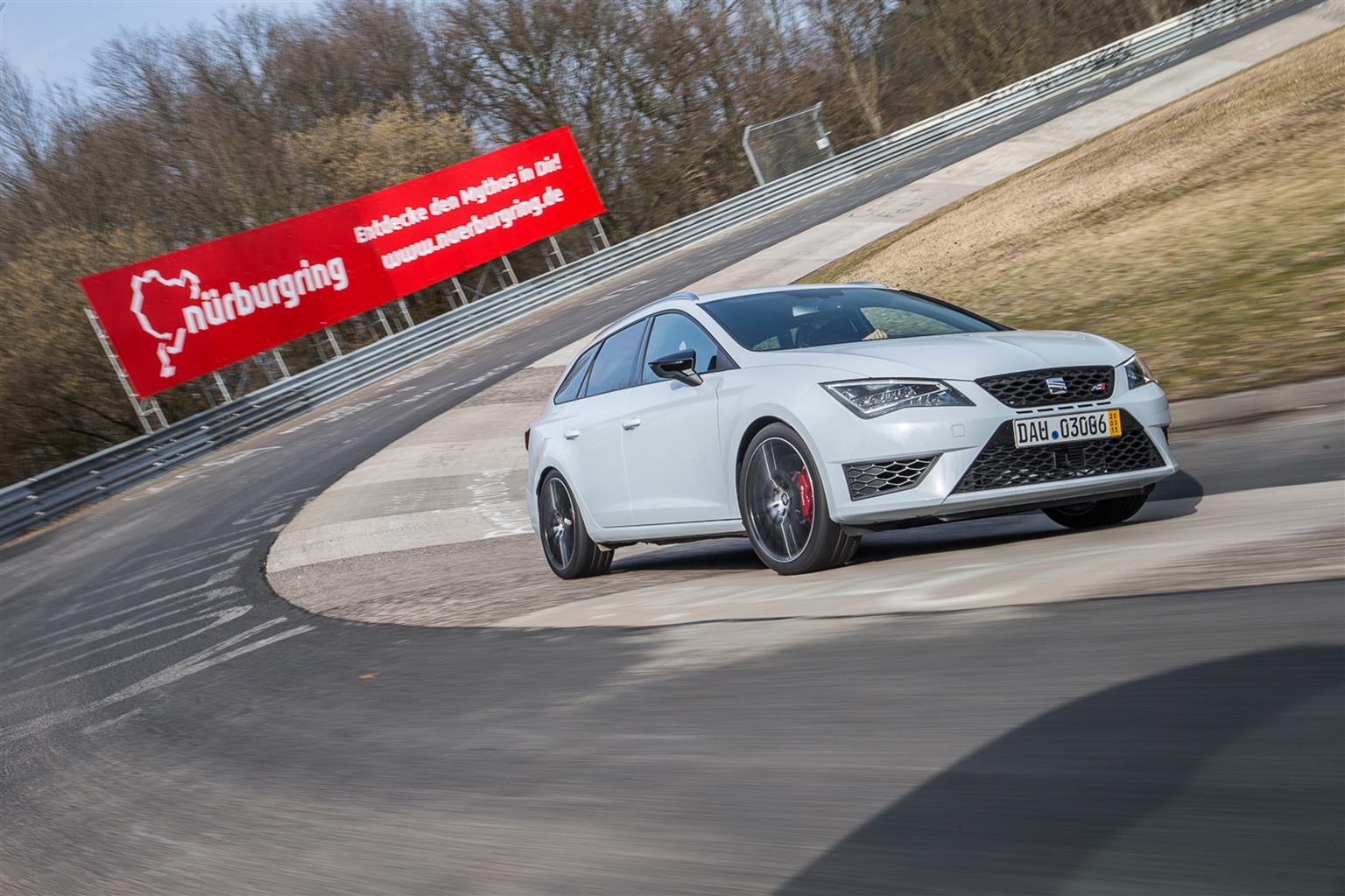 SEAT Leon ST CUPRA: la familiare più veloce al Nürburgring