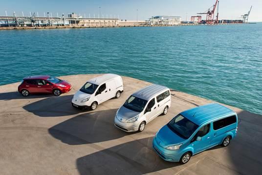 Avis amplia la flotta con le elettriche Nissan