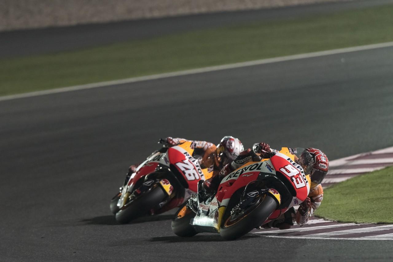 Marquez e Pedrosa riuniti per il GP di Francia
