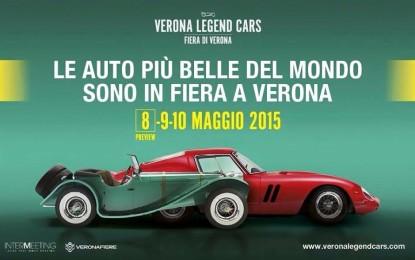 Verona capitale dell'auto con VERONA LEGEND CARS